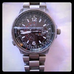 Citizens Night Hawk Eco Drive Watch